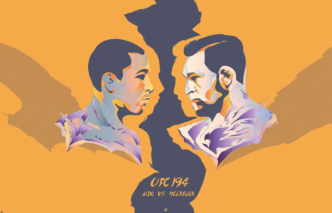 UFC 194 by huMAC