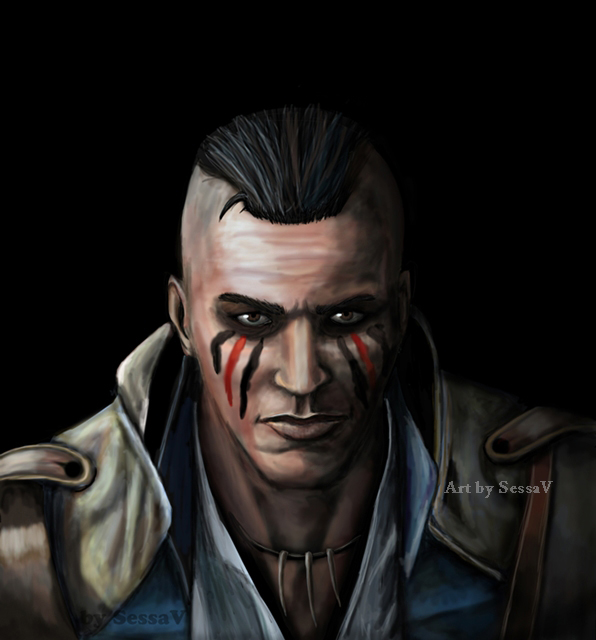 Connor Assassins Creed 3 by SessaV