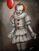 IT - Pennywise 2017 by SessaV