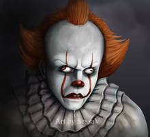 IT - Pennywise by SessaV
