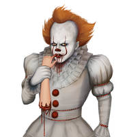 Pennywise - Sketch by SessaV