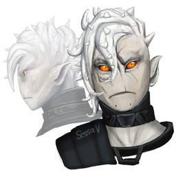 Guild Wars 2 - Dr Dieter Portrait by SessaV