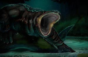 Weretober Day 18 - Amphibian
