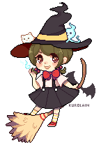 Pixel Witch Adopt [Auction] (CLOSED) by kuros-adopts