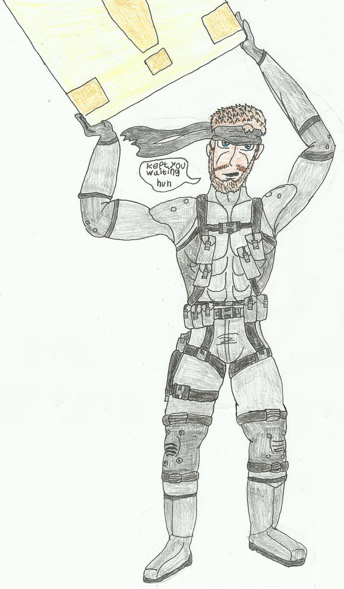 Solid Snake by SHADOWLOUIX