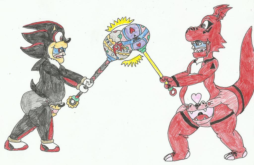 Guil-Melia vs Shadow-Loui by SHADOWLOUIX