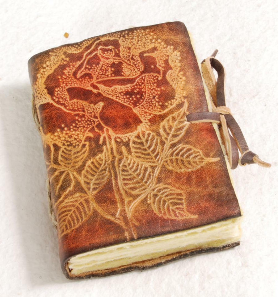 Little rose journal by gildbookbinders