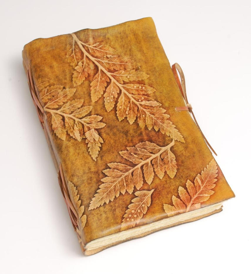Leaves Journal by gildbookbinders