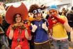 Cosplay - Digimon (Mimi, Sora, Tai)