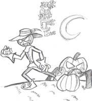 Jack-o-lantern by Kenny-boy