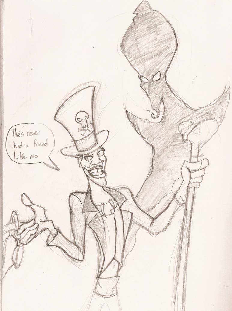 Facilier and Jafar by Kenny-boy
