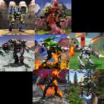 7 panels of BattleTech