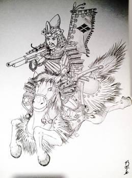 Kiba teppo sketch