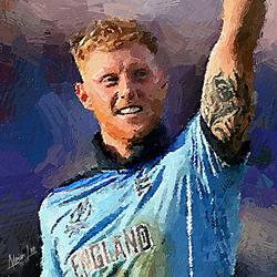 Ben Stokes - England by realdealluk