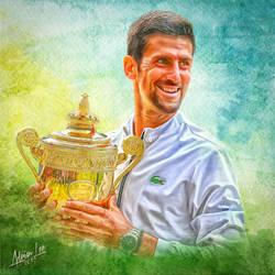 Novak Djokovic by realdealluk
