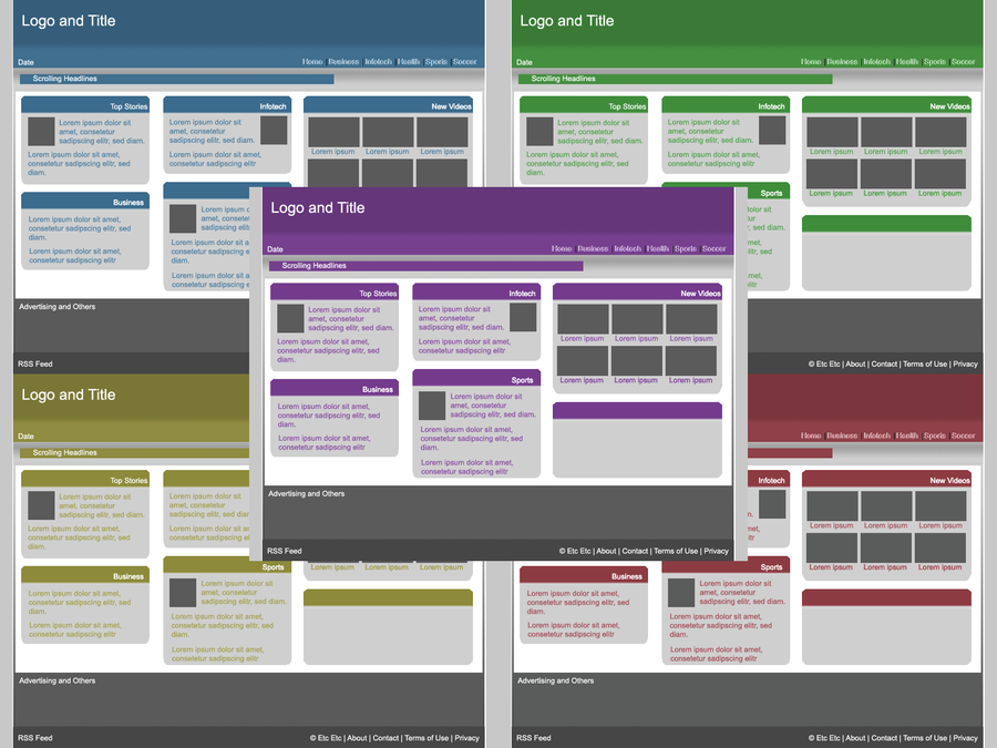 Generic Web Layouts by sassin