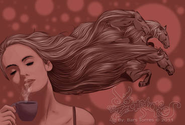 The Horse Hair by barstorres