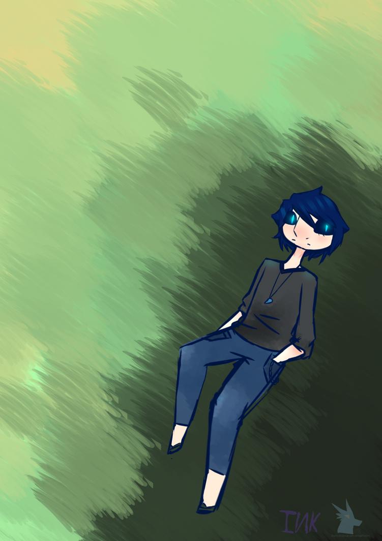 Blue by diamondpup