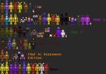 Five Nights at Freddy's pixel sprites