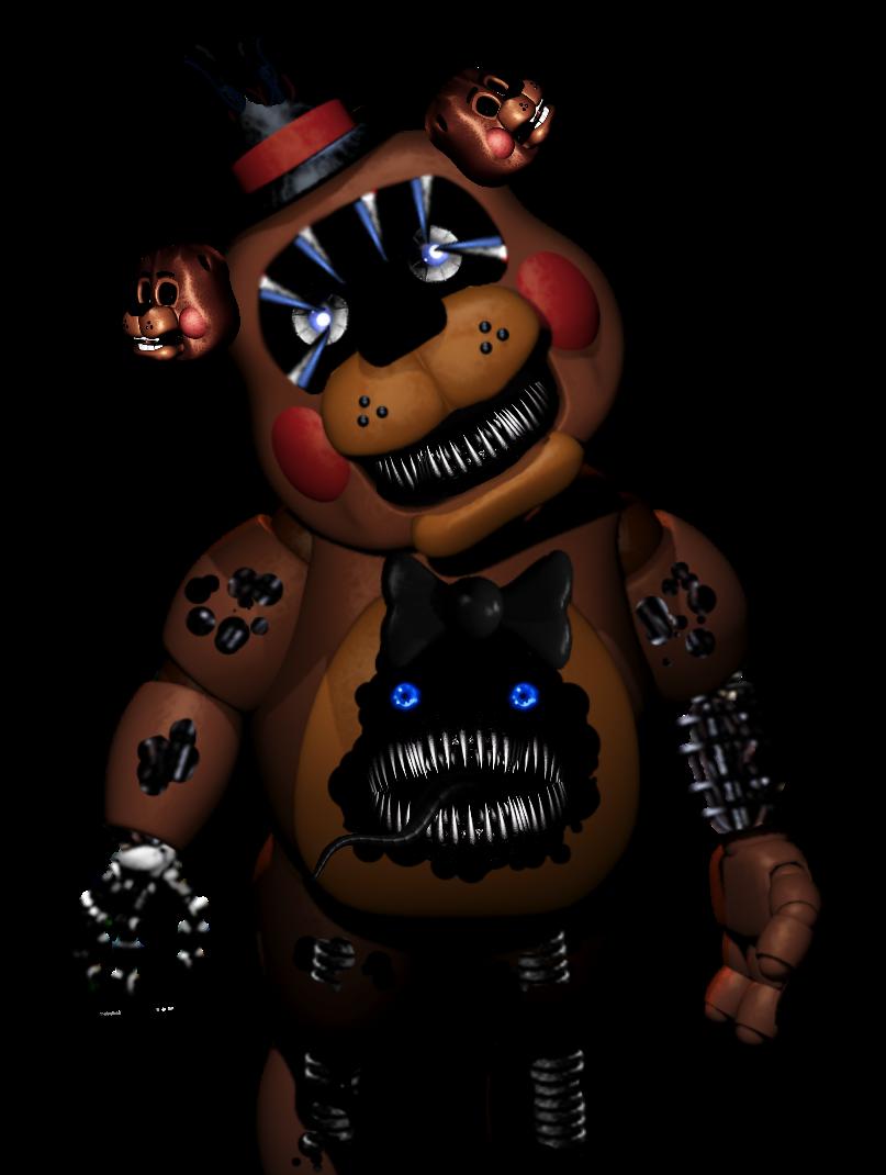 Old Toy Freddy : Nightmare toy freddy by dahooplerzman on deviantart