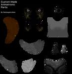 Custom-Made Animatronic Parts Resource Pack