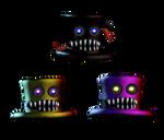 FNaF 4 Nightmare Hats