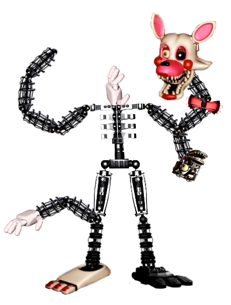Mangles Full Body In Five Nights At Freddys