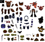 FNaF Withered Animatronic Resource Pack