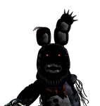 Nightmare Withered Bonnie