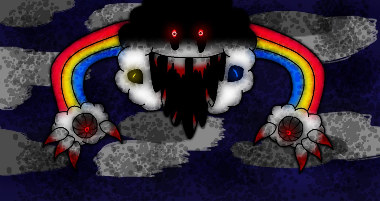 Nightmare Rainbow by DaHooplerzMan