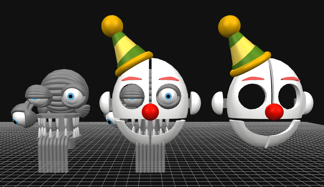 An accurate-but-not-so-much Ennard model by DaHooplerzMan