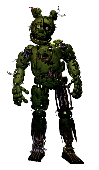 ClownLock (Springtrap + Ennard fusion) by DaHooplerzMan