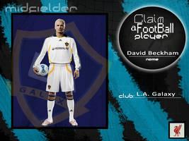 Claim a player - David Beckham by Lfcmaniac