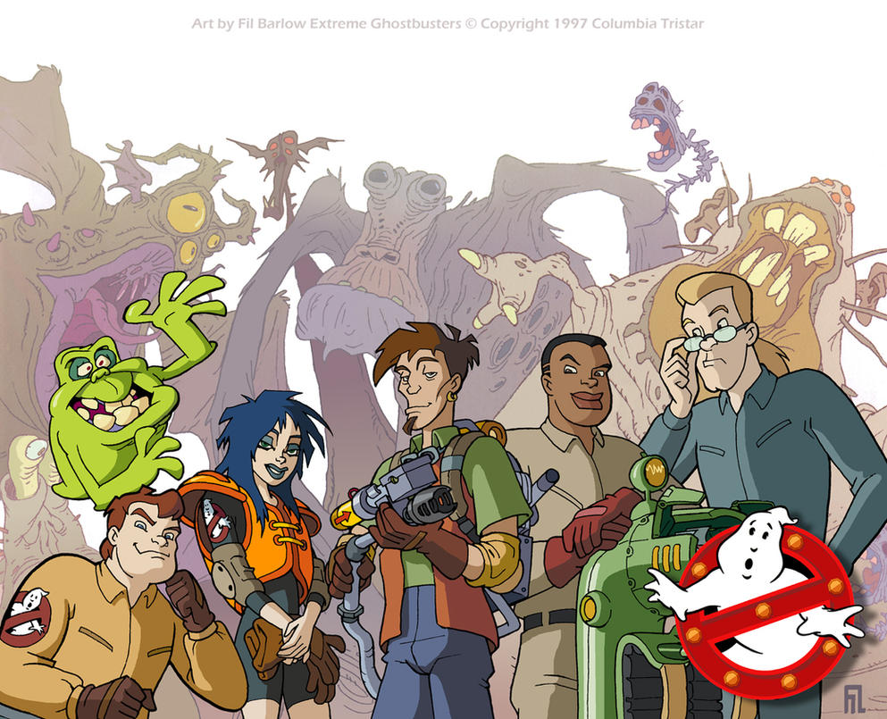 By Excrem By Excrem On Deviantart: Extreme Ghostbusters By Filbarlow On DeviantArt