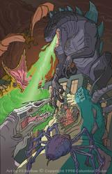 Godzilla by filbarlow