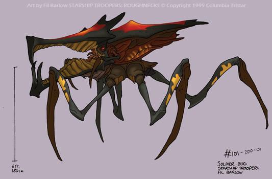Original Warrior Bug Design