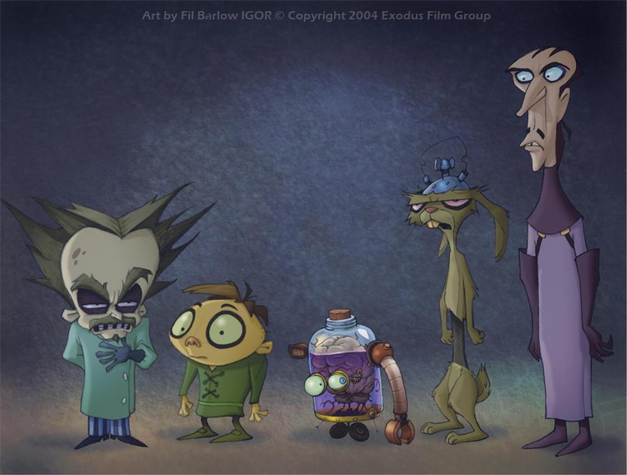 Igor movie line up by filbarlow on deviantart for Igor movie watch online