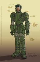 Power Suit: SST by filbarlow