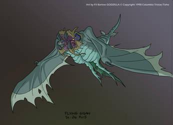Godzilla: 'Gigan' by filbarlow