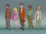 Godzilla: Main Cast Lineup, style #2