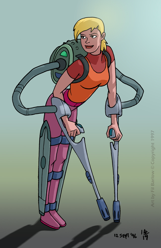 XGB: Early Concept ~ Lucy ~ Part 1 by filbarlow