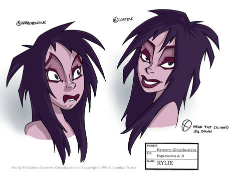 XGB: Main Model Pack:- Kylie Expressions 01