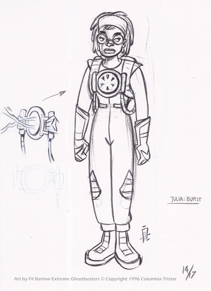 XGB: Early Concept ~ Julia by filbarlow