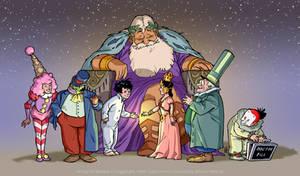 1989 Little Nemo: Character line up