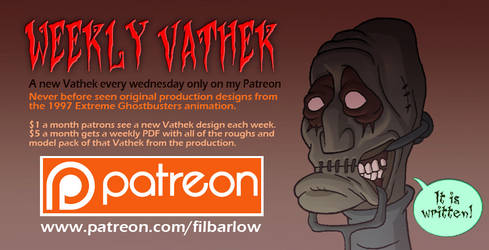 XGB: Weekly Vathek Posts on Patreon by filbarlow