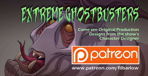 Extreme Ghostbusters: Dog Faced Demon by filbarlow