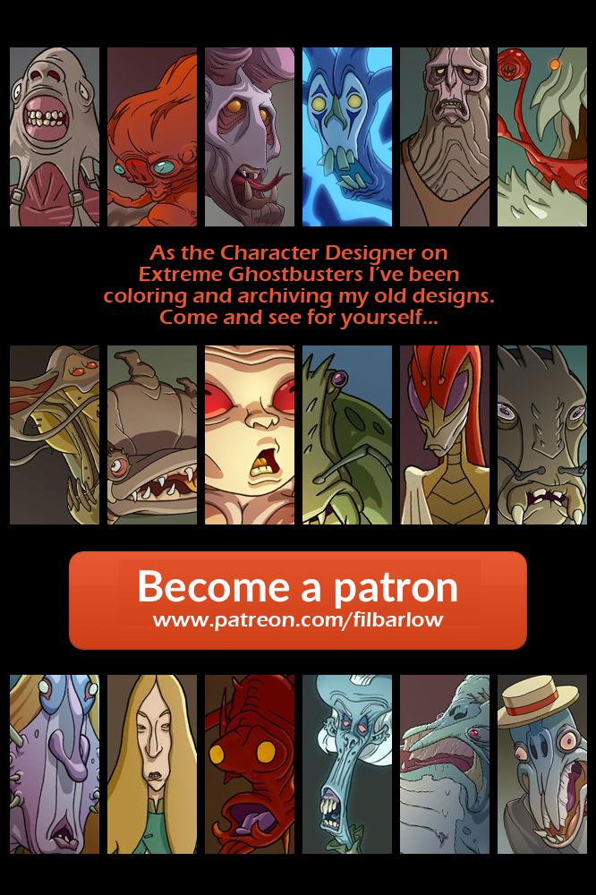 So far on Patreon by filbarlow