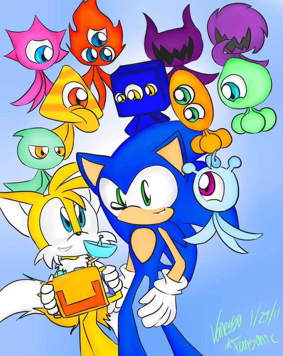 Sonic Colors by fansonic