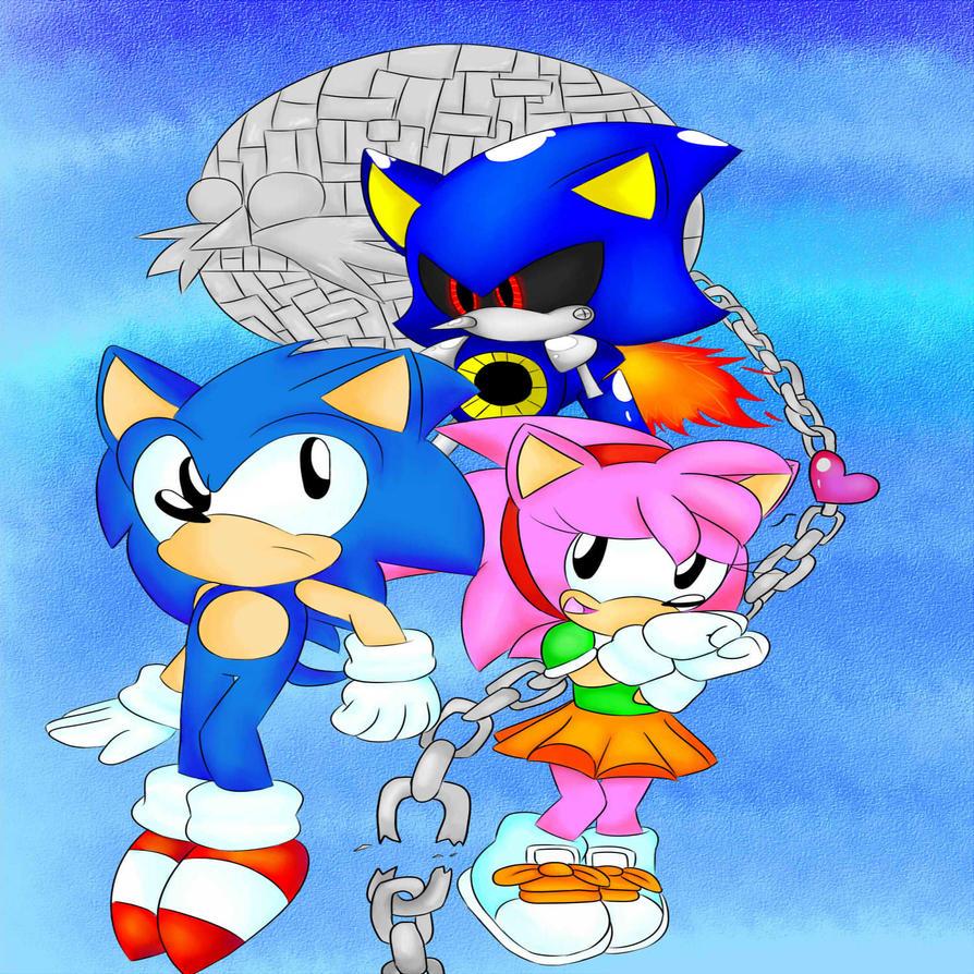 Sonic CD :4 By Fansonic On DeviantArt