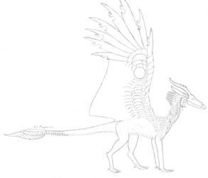 Razorwing sketch